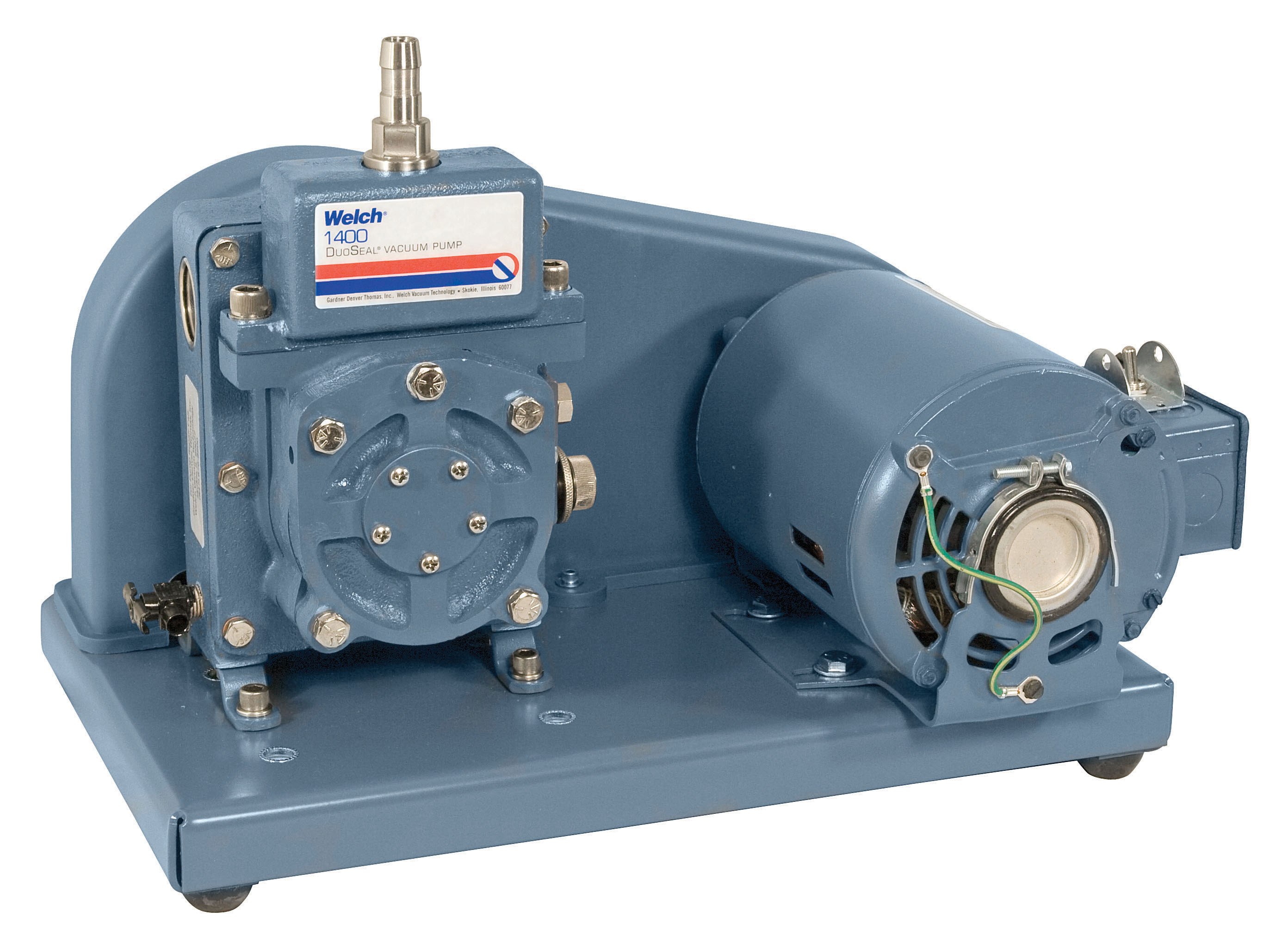 Duoseal Belt Drive High Vacuum Pumps